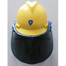 Visera de la PC Visera escudo para el casco de seguridad, visera del escudo de la cara del PVC, visera transparente del protector de la cara, visera verde del escudo de la cara