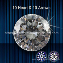10 Hearts & 10 Arrows Cubic Zirconia