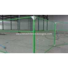 4mm Zinc Wire Temporary Fence Panel For USA/Canada