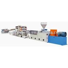 Línea de extrusión de placa plástico de PP/PE/ABS/PMMA/PC/PS/HIPS (hoja)