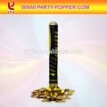 12 '' cañón de confeti vendedor caliente con el rectángulo metálico de la astilla