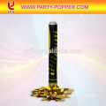 Gold 80cm Popper Confetti Shooter Confetti Cannon Wedding Party Poppers