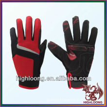 Wholesale Durable Polyester Windproof Adjustable Cycling Gloves