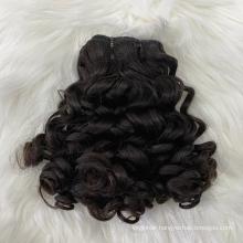 SDD Super Double Drawn Vietnamese Hair Fumi Curls Hair Bundles With Closure,Vietnam Fumi Pixie Curls