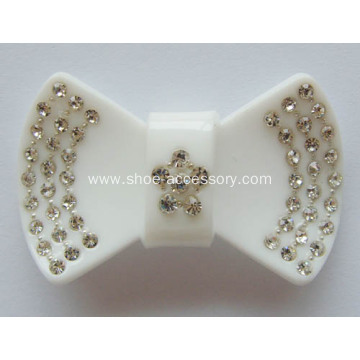 Bowknot Rhinestone Buckle for Ladies and Kids