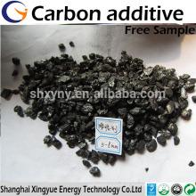 Aditivo de carbono com baixo teor de enxofre / elevador de carbono / carburant / recarburizer para fabricação de aço