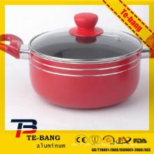 Fábrica de China hizo práctico mejor calidad de aluminio de gran pote de cocina