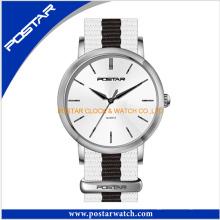 Einfache Ultradünn Dw Style Edelstahl Quarz Unisex Uhr