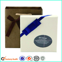 White Chocolate Box CardboardWith Clear Window Partition