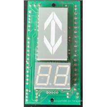 Elevador paralelo indicador