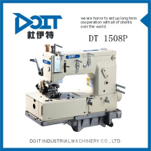 DT 1508P Four needle Flat-bed chain stitch sewing machine with horizontal looper movement mechanism