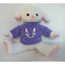 customized OEM design plush sheep with vest