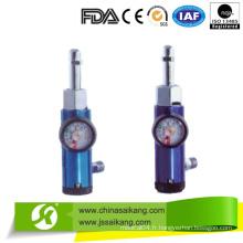 Régulateur médical d'oxygène d'aluminium (CE / FDA / ISO)
