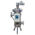 Filtro de agua tipo cepillo de limpieza automática para Filtración gruesa de 100/200 micrones