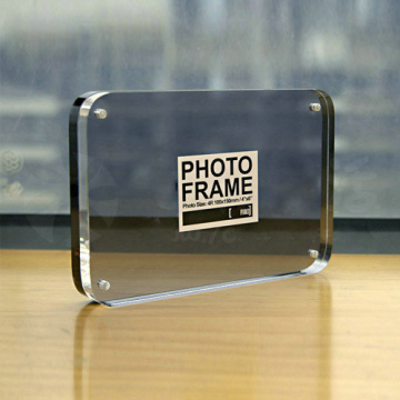 Tranparent Acrylic Photo Frame Displays, Clear Magnetic Photo Frames
