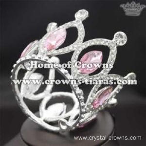 Alloy Crystal Crown Shaped Necklace Pendant