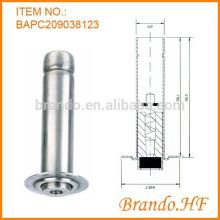220V AC Normalmente cerrado Magnetic inoxidable núcleo de acero inoxidable para la válvula solenoide