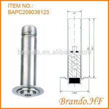 220V AC Normalement fermé Magnetic Stainless Iron Movable Core for Solenoid Valve