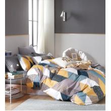 Домашний текстиль Комплект постельного белья с реактивным принтом