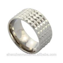 Формальный дизайн 2015 нержавеющей стали IP золото / розовое золото моды гей мужское кольцо