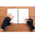 Half fingers Touch Screen polyester Gloves anti-static