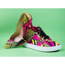 New Style African Printed Fabric High Heel (G-11)