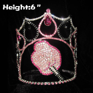 Cotton Candy Crystal Pageant Crowns