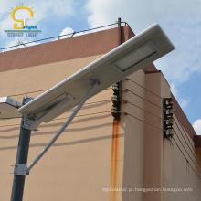 A luz de rua 60w integrada solar tudo em uma luz de rua conduziu a luz de rua solar