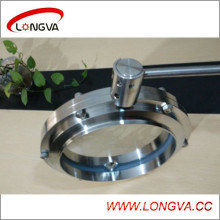 Stainless Steel 10 Inch Welded Butterfly Valve