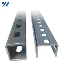 U Profile Slotted Steel Channel