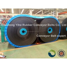Antistatic ep conveyor belt
