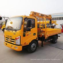 Горячие продажи 4-тонный мини-кран, установленный на грузовике с дешевым пикапом