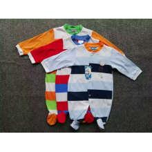 Mameluco para bebés Verano / otoño Jumpsuit / Romper 100% algodón Ropa de archivo para 0m-24m