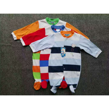Baby Romper Summer / Autumn Jumpsuit / Romper 100% coton Stock Apparel pour 0m-24m
