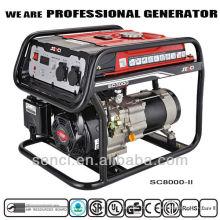 Gerador comercial SC10000-II de 9000 watts para fácil utilização