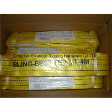 Eb-a Type Webbing Sling, Yellow Colour
