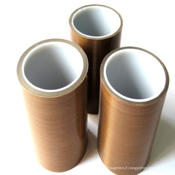 Rouleau de bûches Ruban PTFE brun haute résistance aux hautes températures