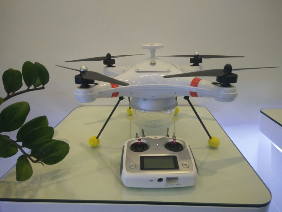 Water Quadcopter With Data Transmitter