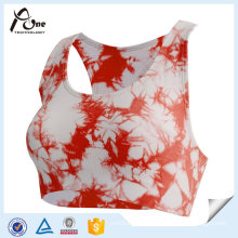 Sports Bra Sublimation Printed Plus Size Gym Bra