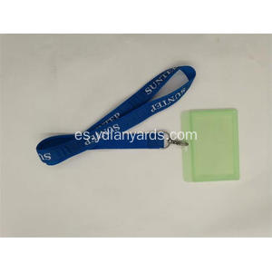 Material ABS Badge Holders Lanyards For School