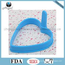 Popular forma de corazón de silicona huevo de silicona de silicona titular del huevo Se09