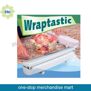 plastic cling film cutters
