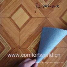 Revêtement de sol PVC avec non-tissé