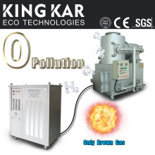 Hho generador de gas para residuos médicos