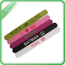 Bracelets drôles de bracelet de Ppq de matériel de PVC de souvenirs d'activité uniques pour des enfants