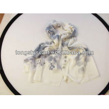 мода полиэфира шарф с принтом пейзажа