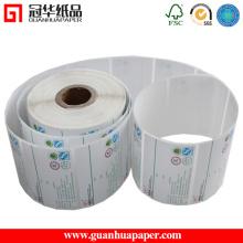 Type d'autocollant adhésif étiquettes d'autocollants imprimables