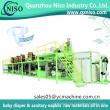 Máquina de pañales desechables para bebés Pampers