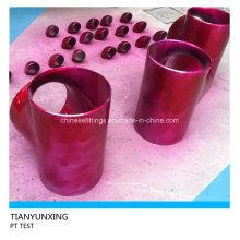 ASME B16.9 PT Prueba de accesorios de tubería de acero inoxidable sin costura