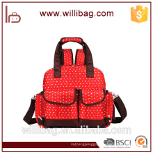 Hot Selling Good Quality Fashion Mummy Baby Diaper Bag Backpack